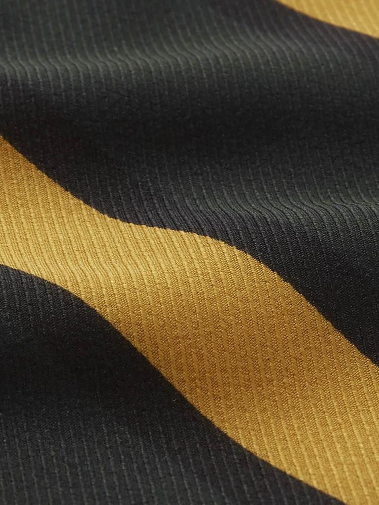 Double V Neck Striped Cami Top - Multicolor