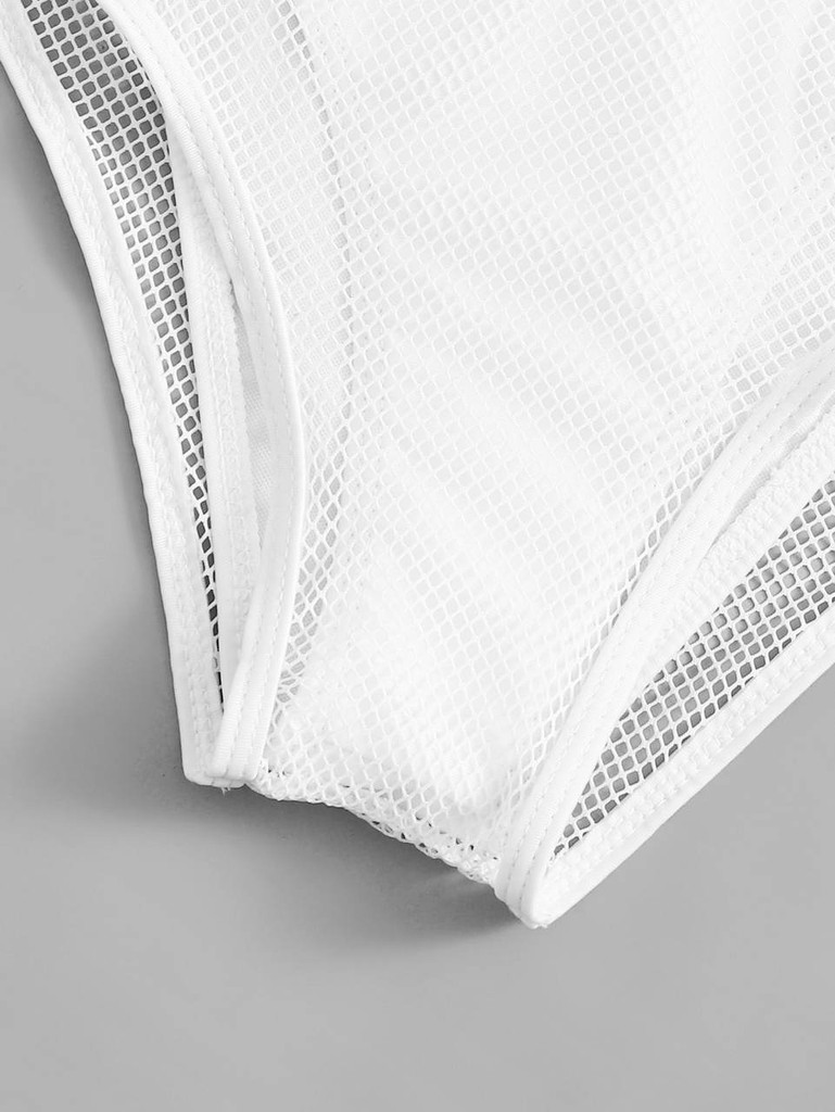 c0c1e9c579 Fishnet Bardot Top With High Waist Bikini Set Click here to enlarge
