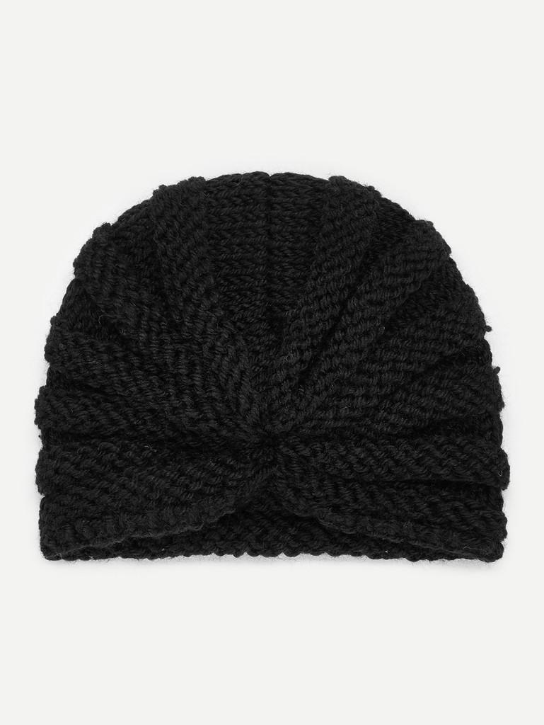 Kids Plain Turban Hat