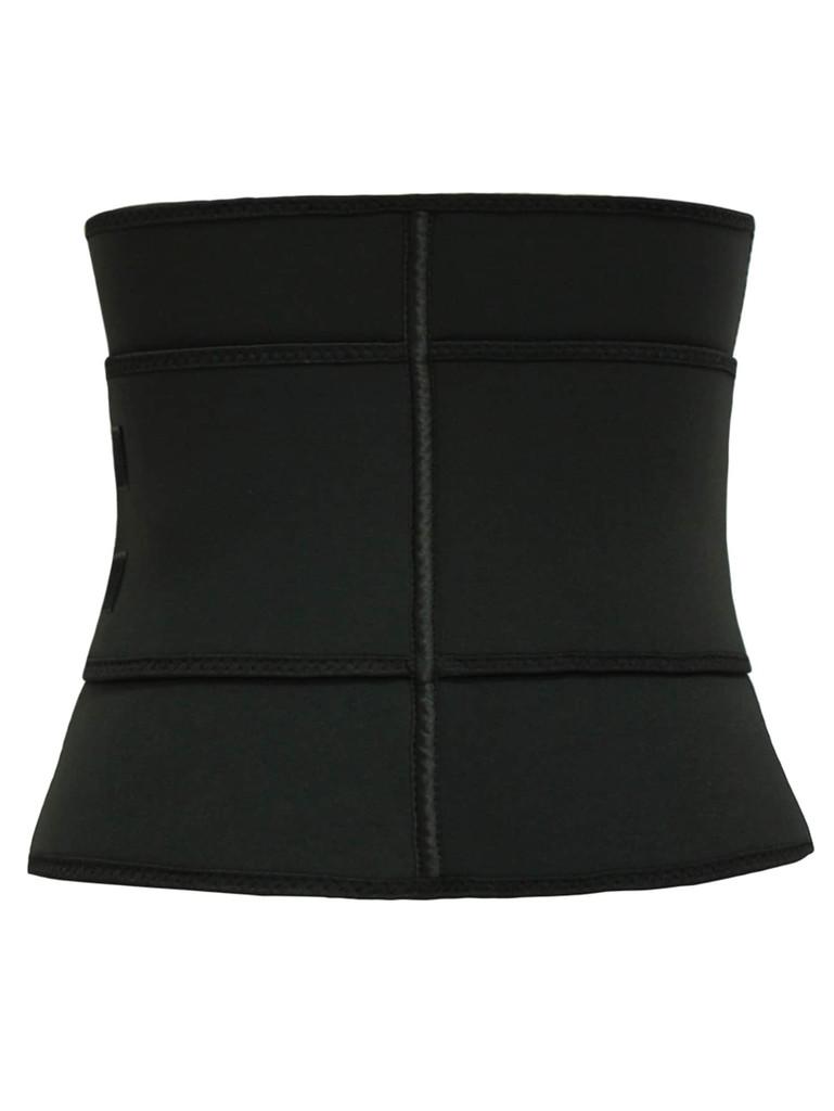 Plus Letter Print Zip-up Shapewear