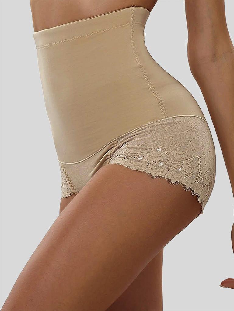 Scalloped Trim Shapewear Panty