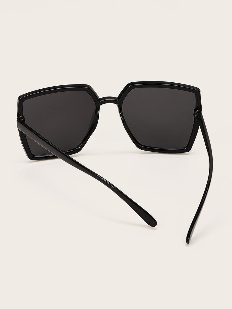 Plain Square Sunglasses