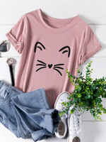Plus Cartoon Print Tee - bfd95cb6
