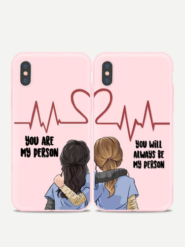 Figure Print Sister iPhone Cases