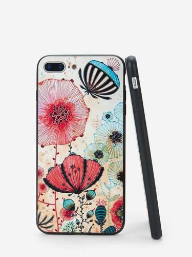 Flower Print iPhone Case - 680c74a5