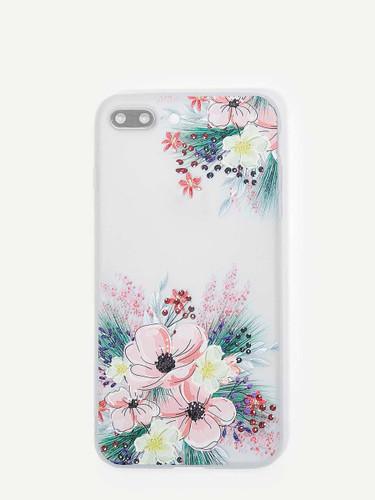 Flora Pattern iPhone Case