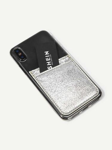 Glitter Phone Card Holder