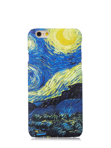 Oil Painting Print iPhone Case