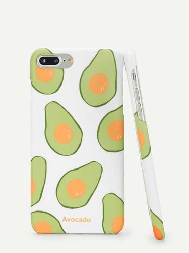 Avocado Print iPhone Case
