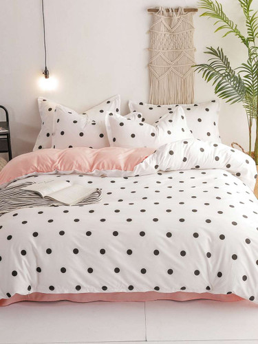 Polka Dot Print Sheet Set