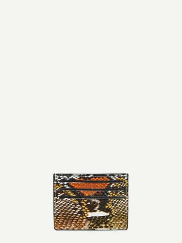 Snakeskin Pattern Card Pouch