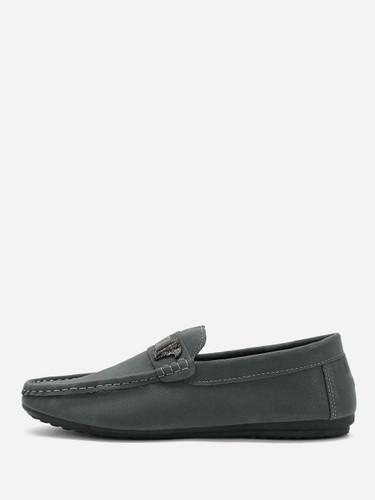 Men Seam Detail Slip On Loafers