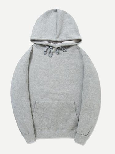 Men Plain Hooded Sweatshirt - afeaf563