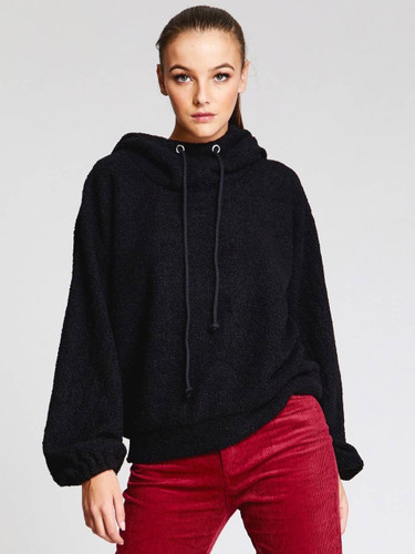 Teddy Hooded Sweatshirt