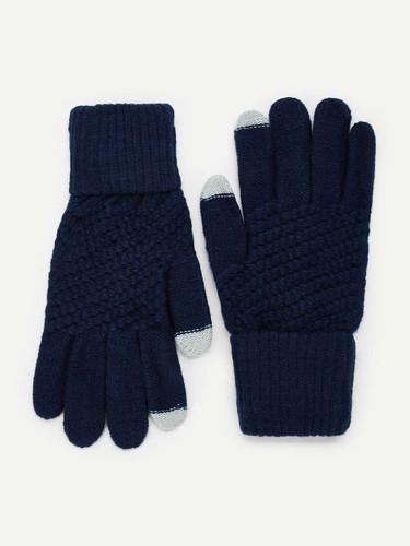 Men Plain Gloves