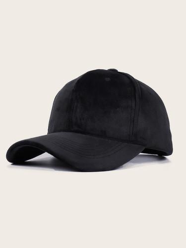Men Velvet Baseball Cap