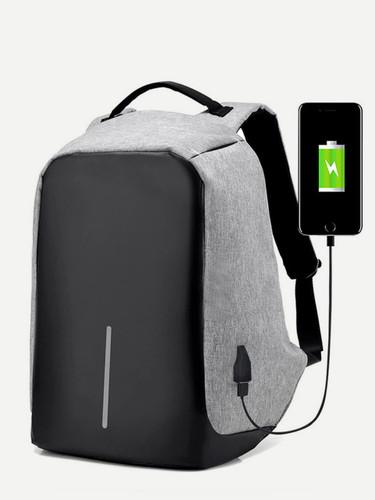 Men USB Charging Port Backpack