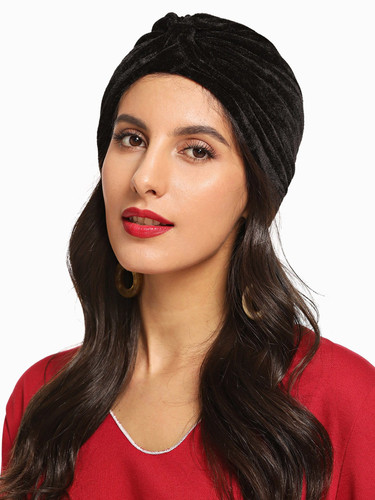 Plain Turban Hat