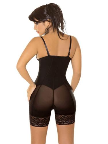 Plus Zip Front Body Sculpting Underwear