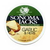 Garlic & Herb Cheese Wedges - 4oz