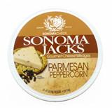 Parmesan Peppercorn Cheese Wedges - 4oz