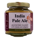 India Pale Ale Beer Mustard w/ Cloves and Allspice  - 8oz