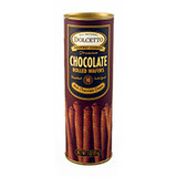 Chocolate Wafer Rolls - 3oz