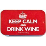 Keep Calm and Drink Wine Mint Tin - 0.56oz