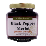 Black Pepper Merlot Wine Jelly - 8oz