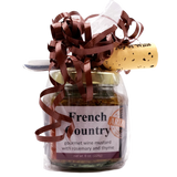Wrapped Mustard Jar Gift