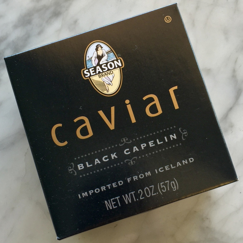 Black Capelin Caviar - 2oz
