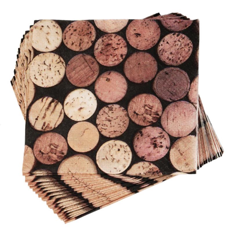 Wine Cork Napkins