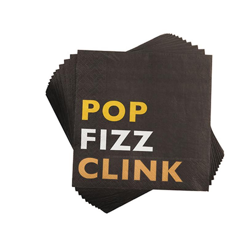 POP, FIZZ, CLINK Napkins