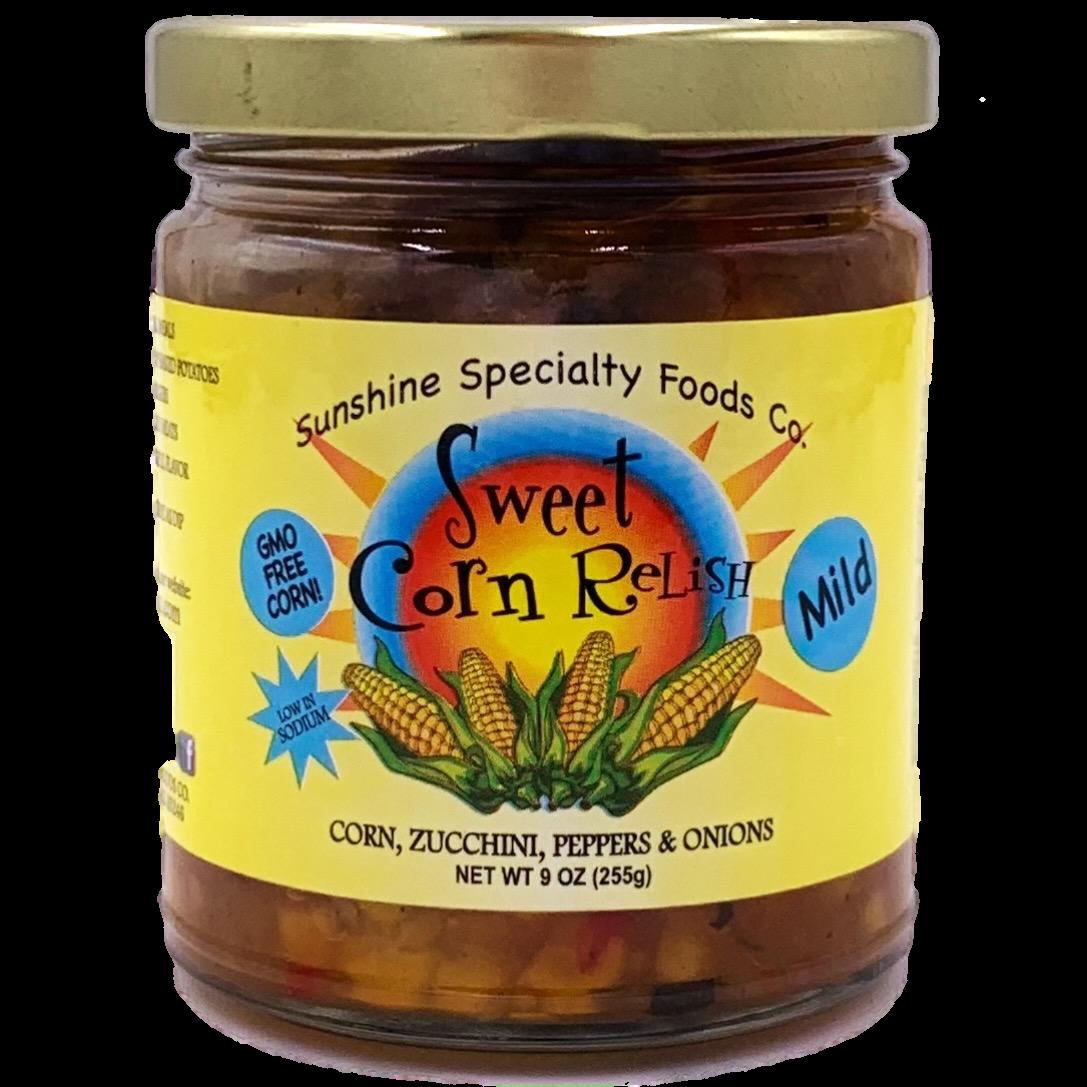 Sweet Corn Relish 10oz D Vine Gourmet