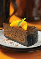 Dark Chocolate Orange Cheesecake