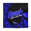 Radical Blue Vortex Dye Sublimated Towel