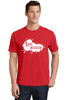 READY-2-SHIP Logo Infusion - Bright Red Tee - Unisex