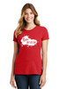 READY-2-SHIP Logo Infusion - Bright Red Tee - Ladies
