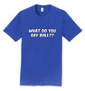 #TeamBohn T-Shirt - What Do You Say Ball - 4 colors