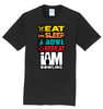 I Am Bowling T-Shirt - Eat Sleep Bowl Repeat - 6 Colors - 00CQ