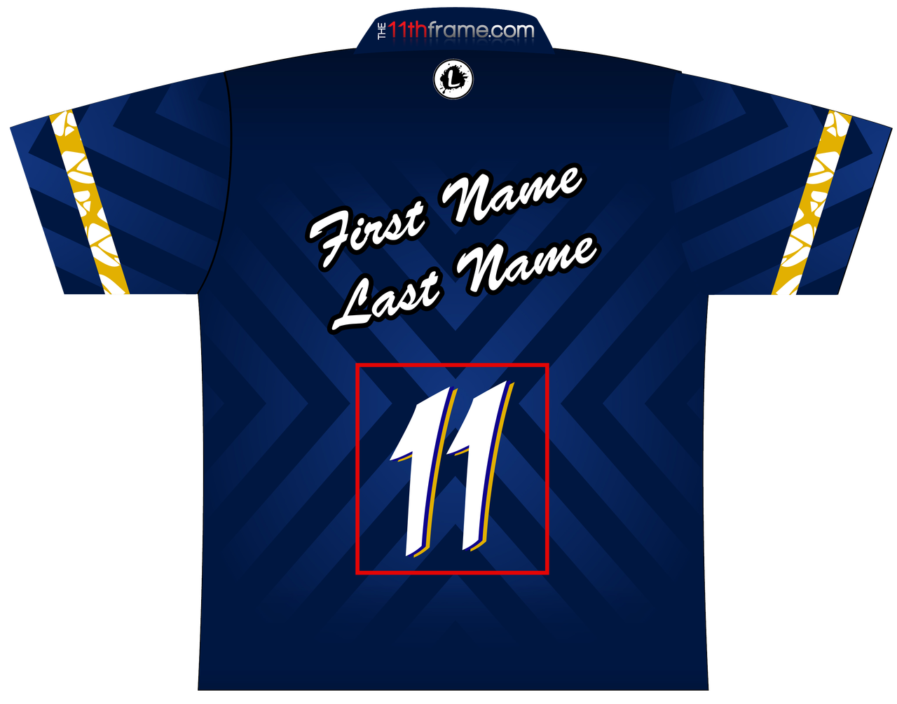 11thFrame.com Style 2 Dye Sublimated Jersey