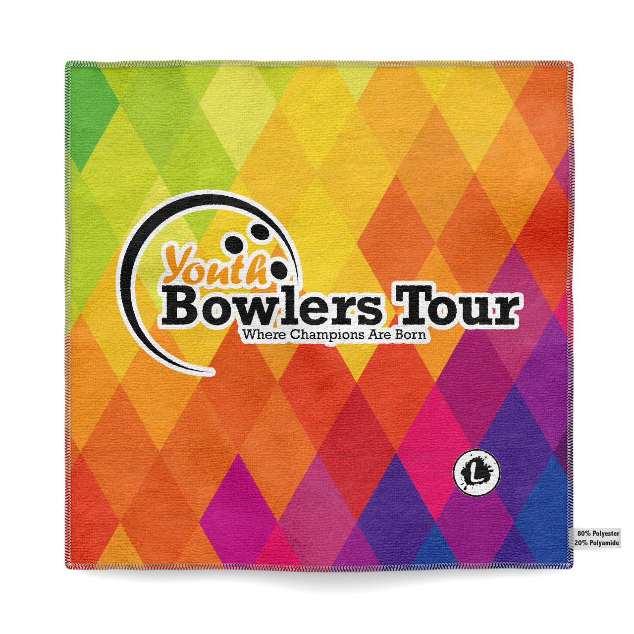 Youth Bowlers Tour - YBT - Microfiber Towel - YBT001
