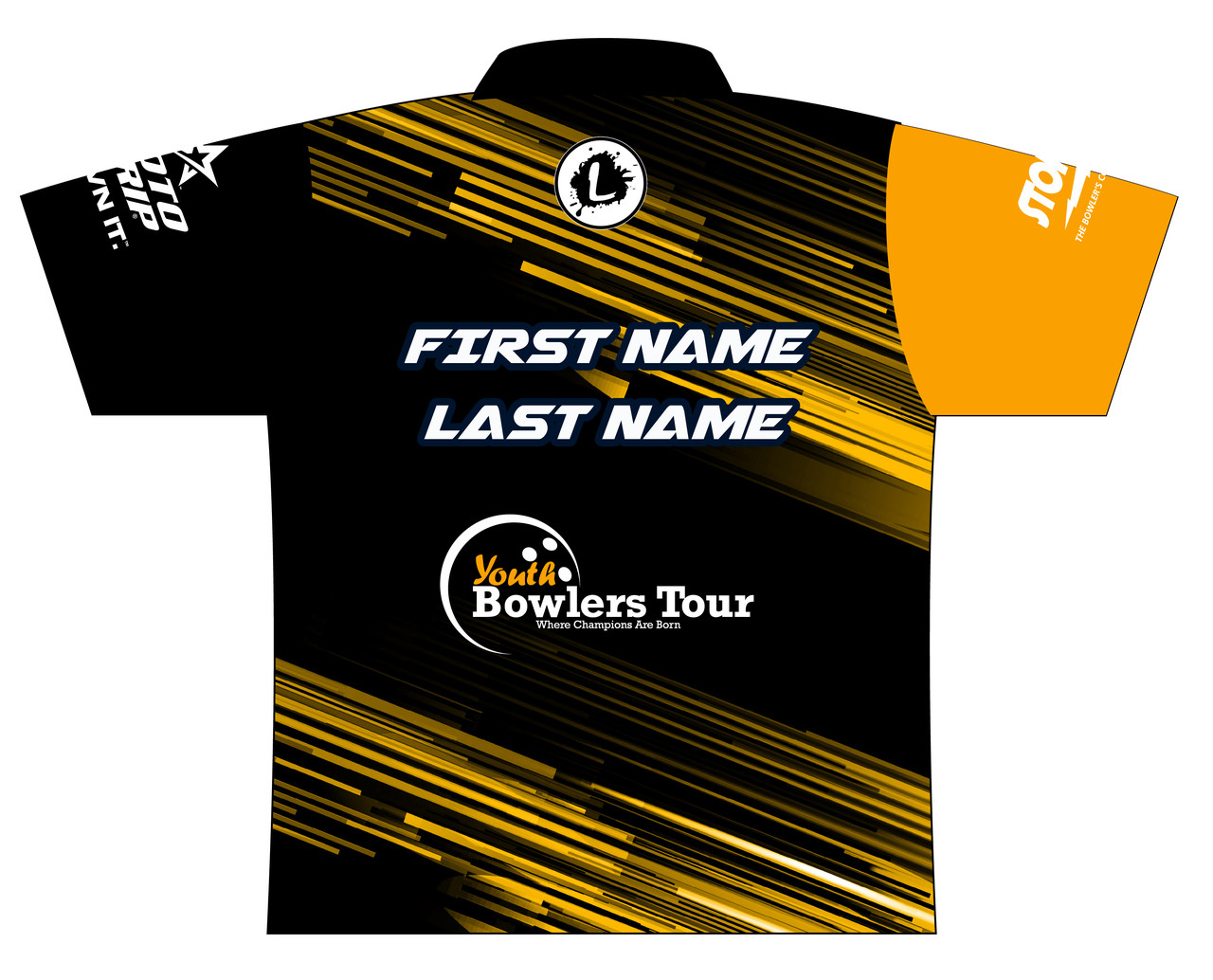 Youth Bowlers Tour - YBT - Dye Sublimated Jersey - YBT003