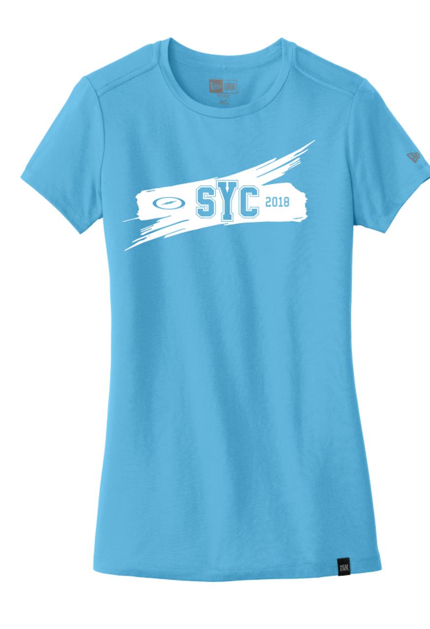 SYC 2018 Ladies Lt. Blue Tee - CLOSEOUT