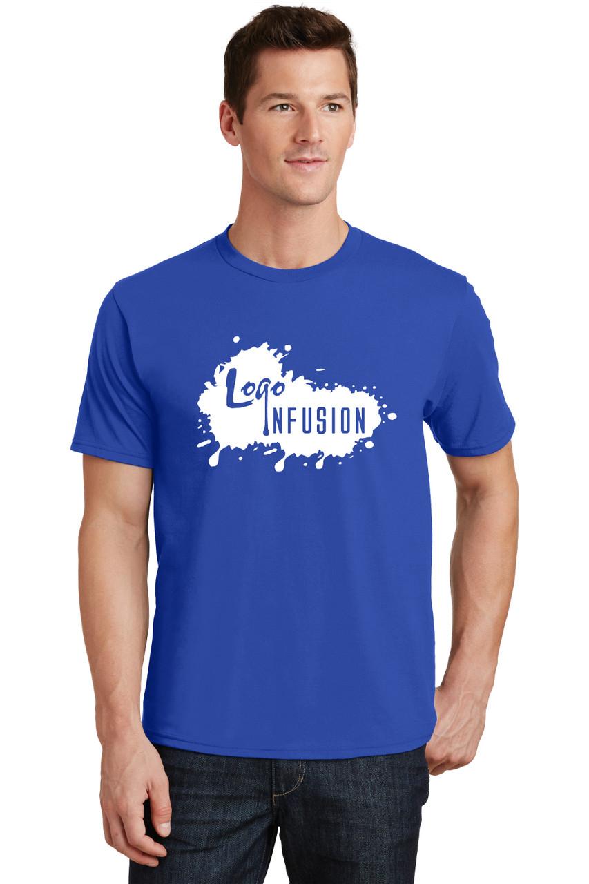 READY-2-SHIP Logo Infusion - Royal Blue Tee - Unisex