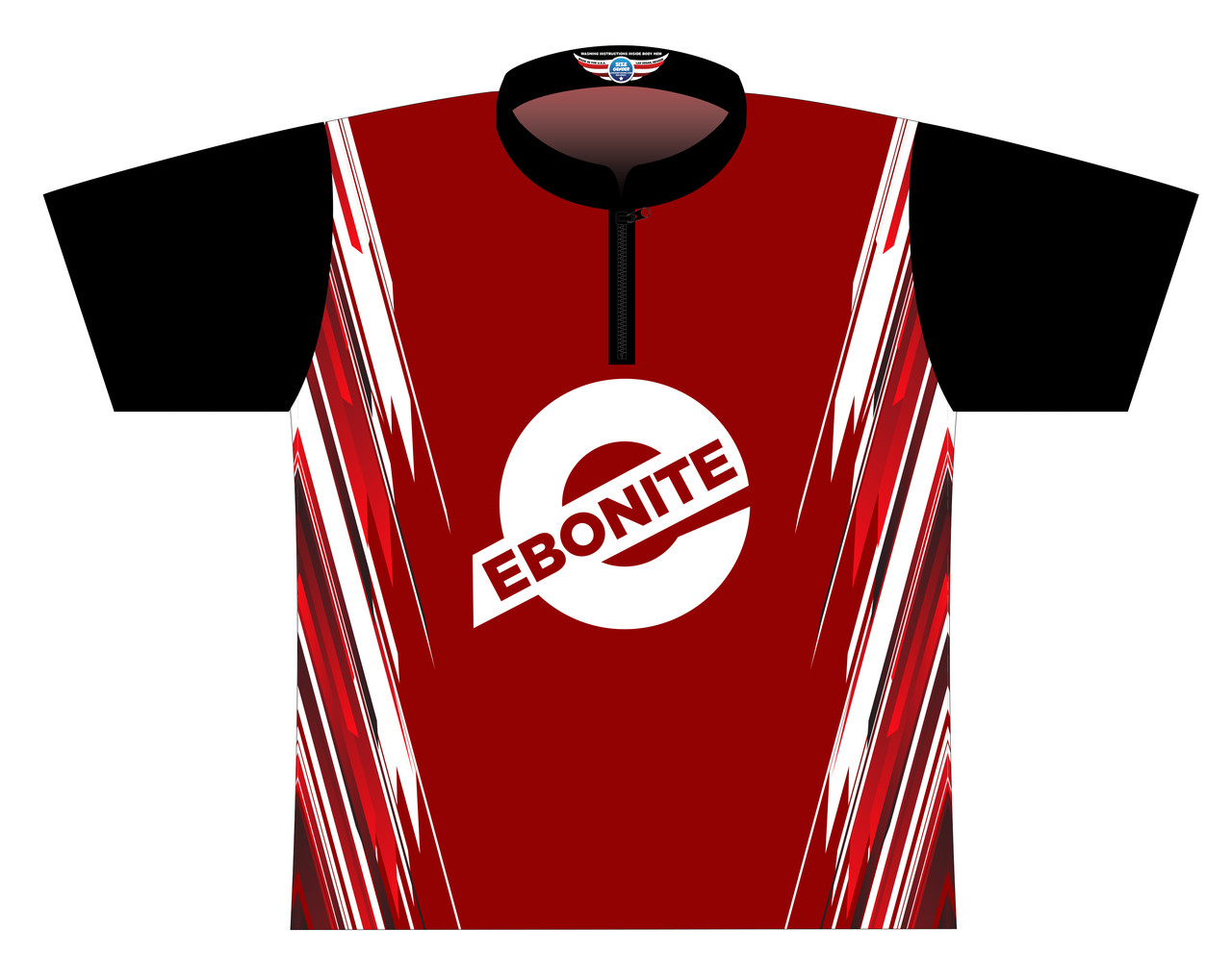 Ebonite DS Jersey Style 0506 - SASH COLLAR - (READY-2-SHIP)