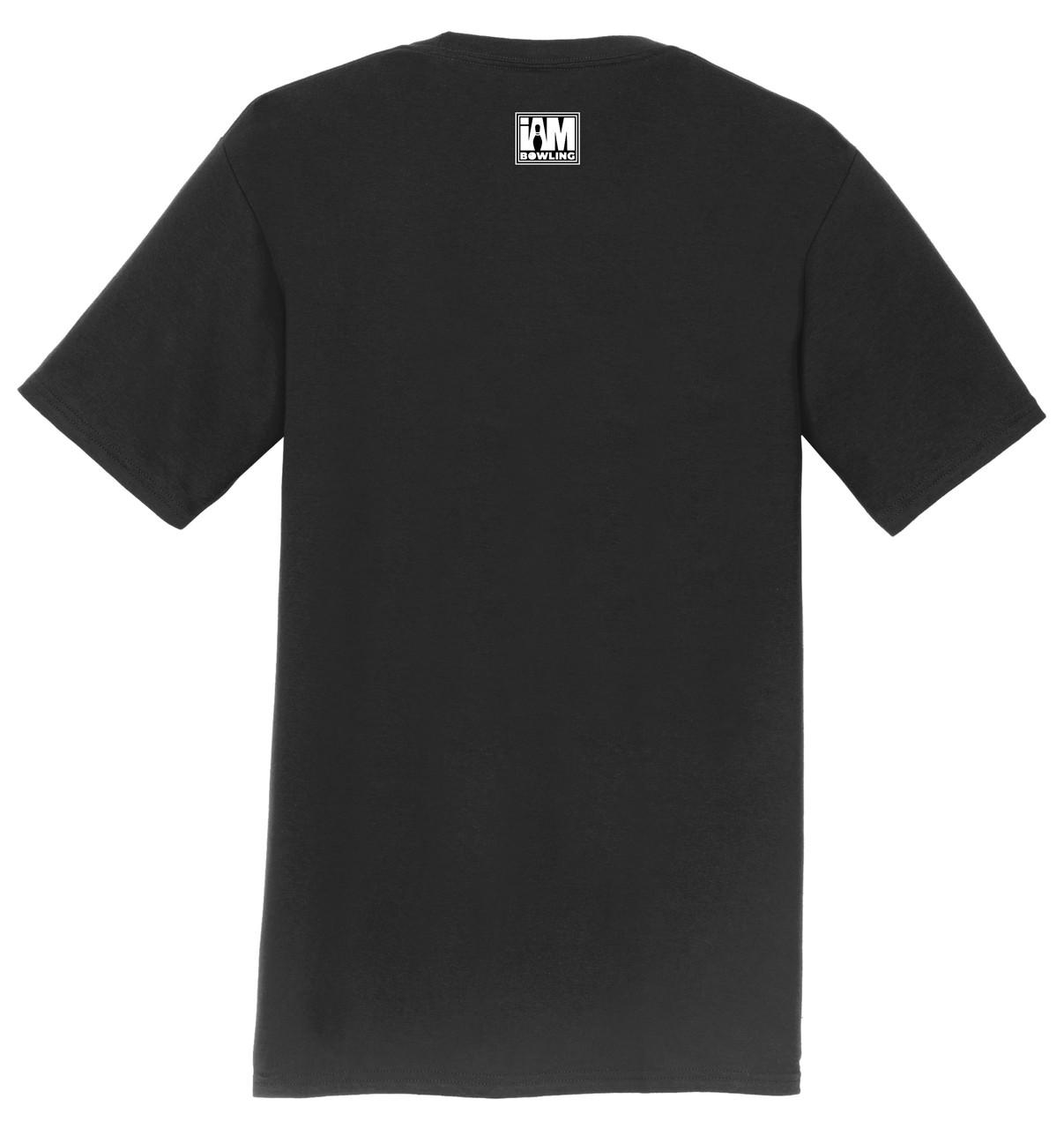 I Am Bowling T-Shirt - Bowling Lane Logo - 6 Colors - 000B