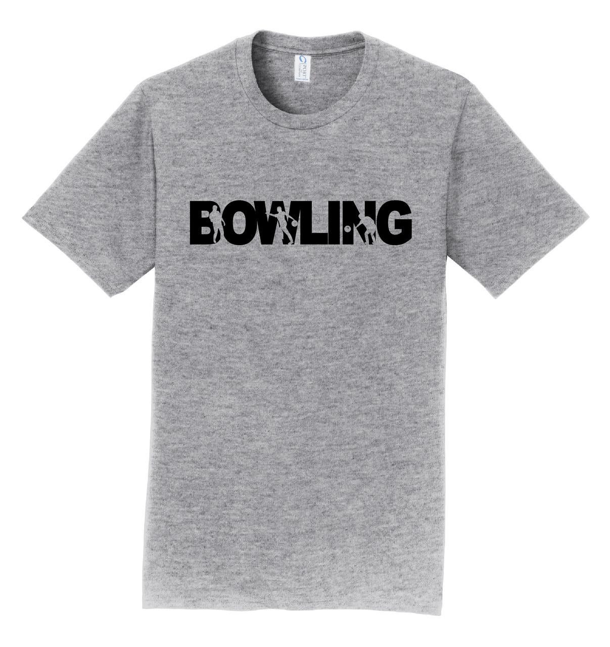 I AM Bowling T-Shirt - Bowling Black Logo - 8 Colors
