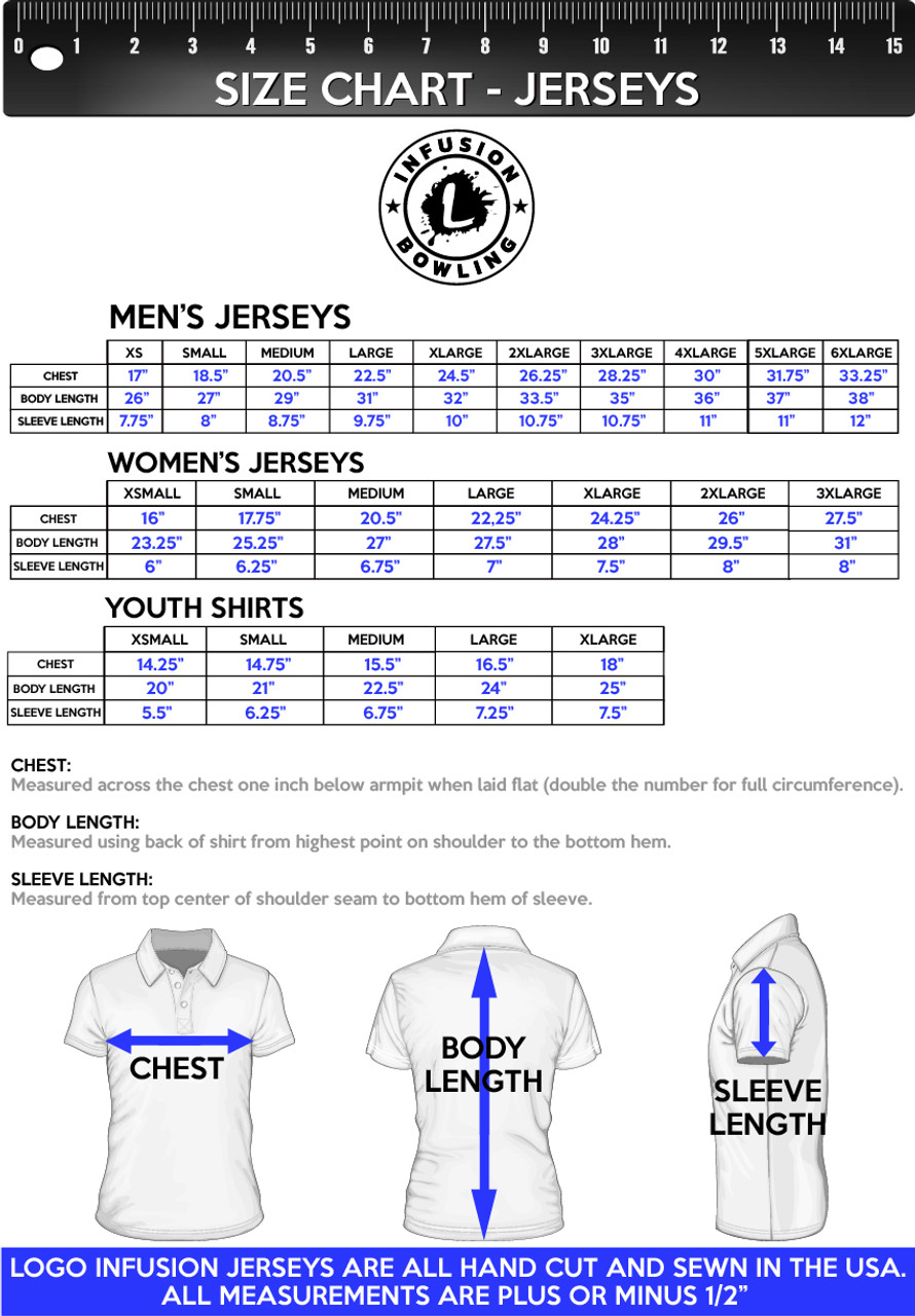 Infusion Bowling DS Jersey Style 1012_INB