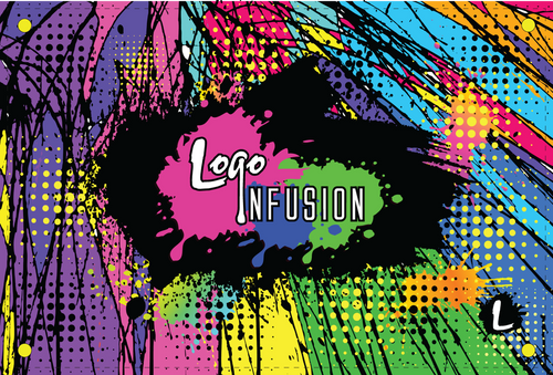 Logo Infusion Comic Book Dye Sublimated Banner